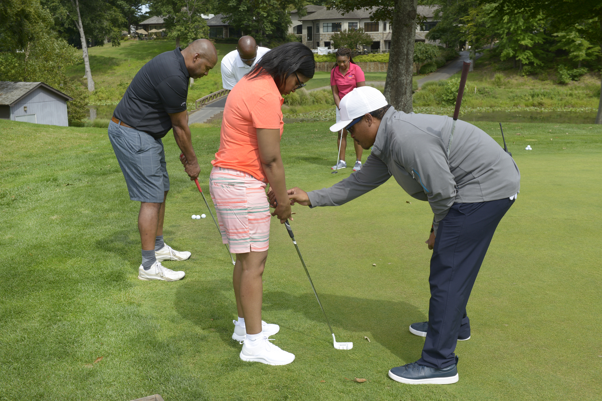 Golf Clinic Participants
